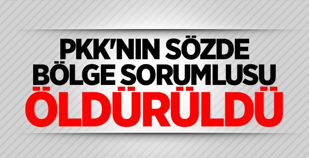 Şehitlerin kanı yerde kalmadı! PKK'nın sözde sorumlusu Öldürüldü