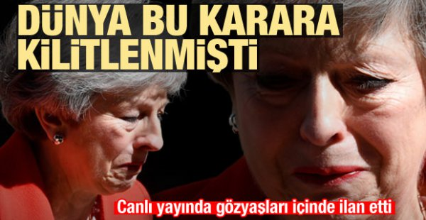 Beklenen Haber Geldi: İngiltere Başbakanı 7 Haziran'da İstifa Edecek