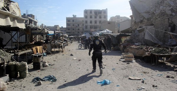 Suriye'de Rejim Güçleri Pazara Saldırdı: 4 Ölü, 40'dan Fazla Yaralı