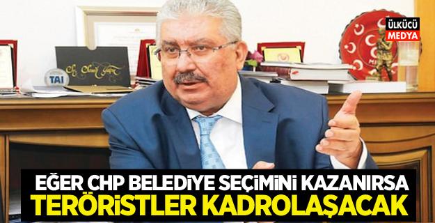 MHP'li Yalçın: Belediyeyi CHP alırsa teröristler kadrolaşacak
