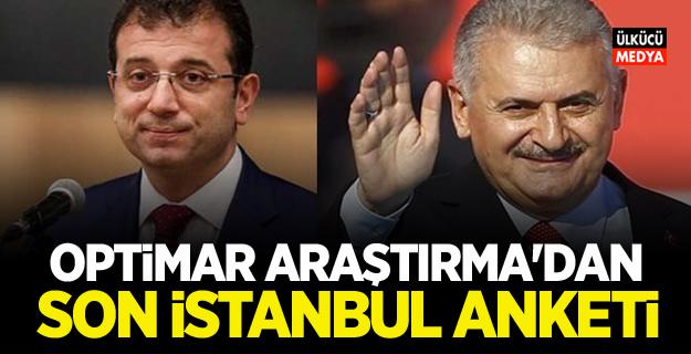İstanbul'da kim önde? OPTİMAR ARAŞTIRMA SON İSTANBUL ANKETİNİ AÇIKLADI