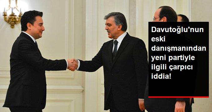 Davutoğlu'nun eski danışmanından yeni partiyle ilgili çarpıcı iddia