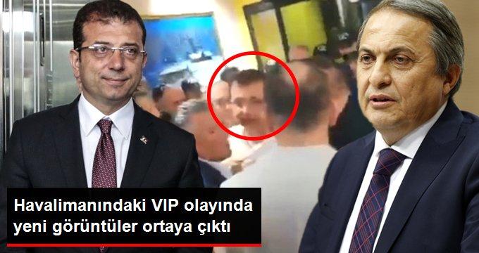 Ekrem İmamoğlu'nun VIP salonunda tartıştığı anların yeni görüntüsü ortaya çıktı