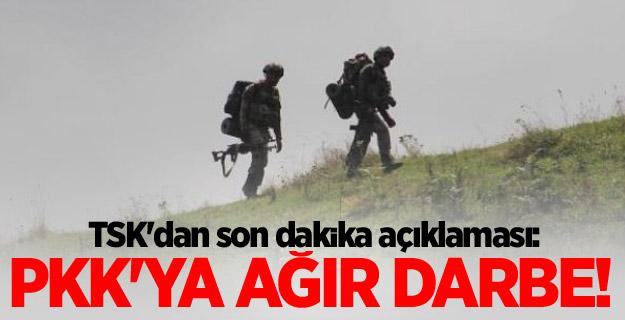 PKK'ya 15 günde ağır darbe!