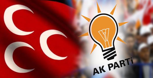 AK Parti ve MHP sahaya indi!