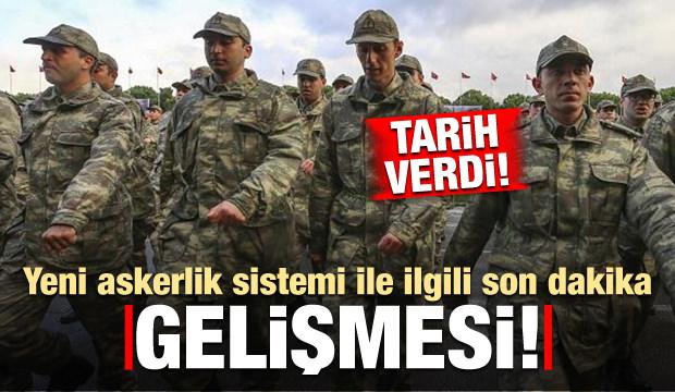 Yeni askerlik sistemi ilgili son dakika açıklaması! Tarih verdi...