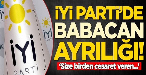 İYİ Parti'de Ali Babacan ayrılığı! 'Size birden cesaret veren...'