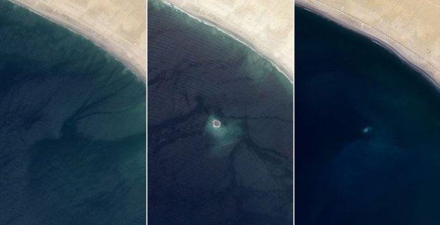 Pakistan'da Bir Ada Kayboldu
