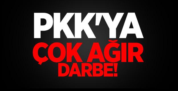 PKK'ya peşpeşe ağır darbe! Çok sayıda terörist etkisiz hale getirildi