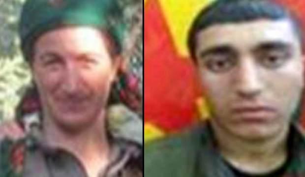 PKK'nın 2 kritik ismi daha etkisiz hale getirildi!