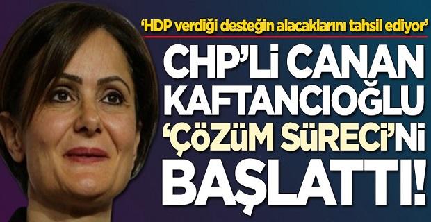 Skandalların ismi Canan Kaftancıoğlu çözüm sürecini başlattı