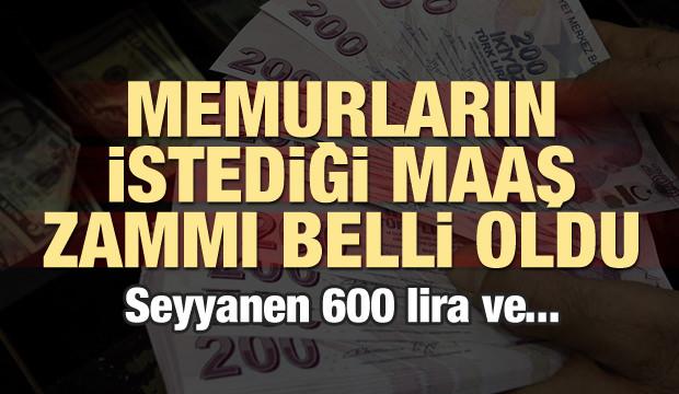 Kamu-Sen zam teklifini açıkladı! Seyyanen 600 lira
