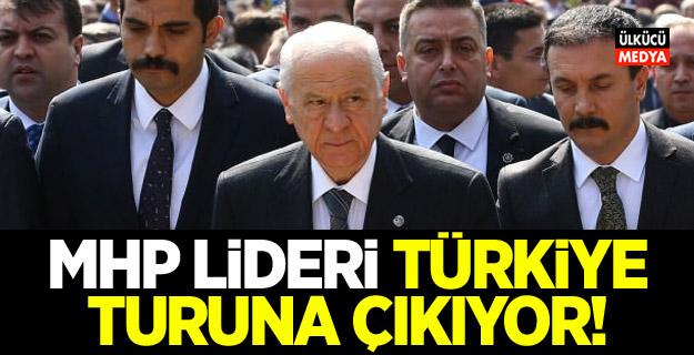 MHP lideri Devlet Bahçeli Türkiye turuna çıkıyor! 4 ile daha gidecek