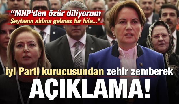 İYİ Parti kurucusuydu, zehir zemberek sözler: MHP'den özür diliyorum..