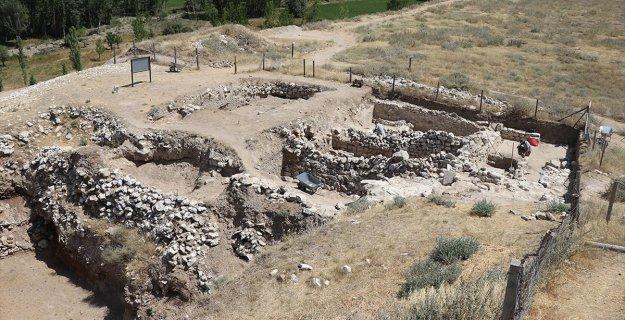 Porsuk Höyük'te Roma Dönemine Ait Yaşam Alanı Bulundu