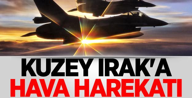 Türk jetleri havalandı! Irak'ın kuzeyine hava harekatı