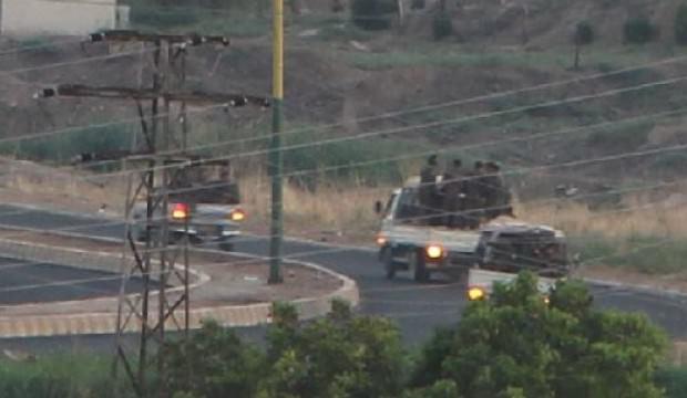 Mardin'den görüntülendi: 3 kamyonda 50 terörist