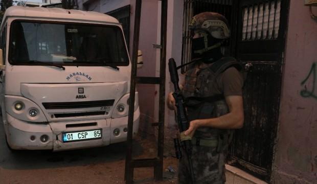 Adana'da terör operasyonu! Çok sayıda gözaltı kararı var