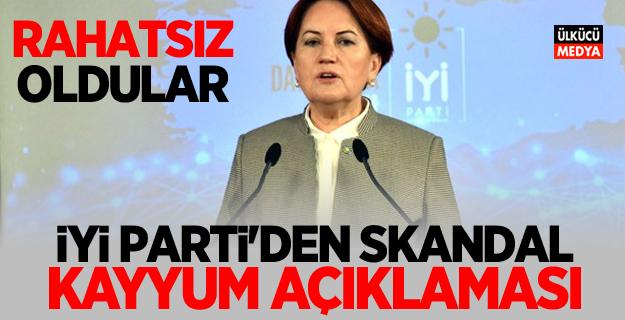 İYİ Parti'den Skandal kayyım açıklaması