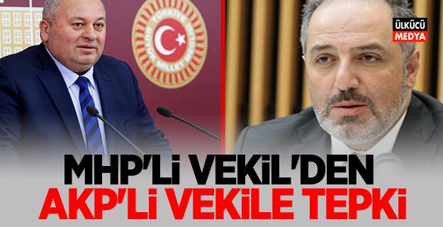 MHP'li vekilden AKP'li vekile tepki!