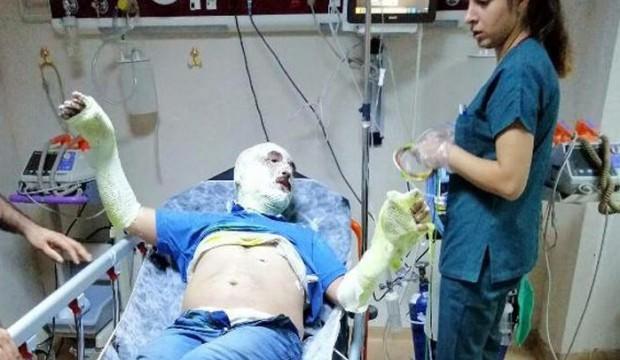MHP'li ilçe başkanı ölümden döndü!