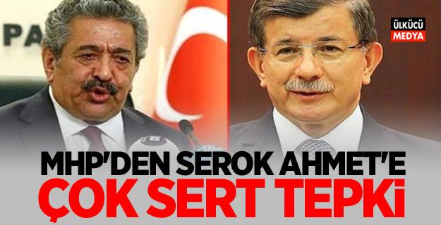 MHP'den Serok Ahmet'e sert tepki! 'İbretlik bir savrulma içinde'