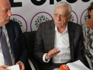 CHP'li Muharrem İnce HDP'li Ahmet Türk'ü ziyaret etti