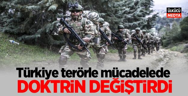 Türkiye terörle mücadelede doktrin değiştirdi!