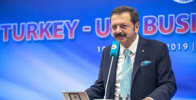 Hisarcıklıoğlu: Türkiye-ABD Serbest Ticaret Anlaşması İmzalanmalı