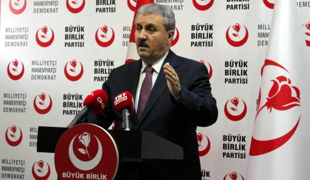 Mustafa Destici: HDP, PKK'nın siyasi şubesidir, terör yuvasıdır
