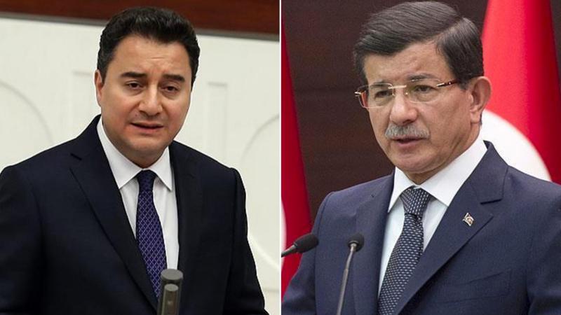 Ali Babacan ve Ahmet Davutoğlu'nun Cumhurbaşkanı adayı belli oldu!
