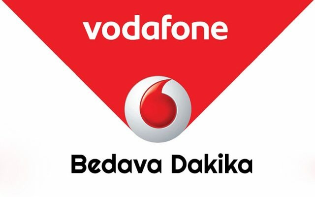 Vodafone Bedava Dakika Kazanma