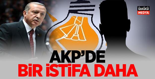 AKP'de bir istifa haberi daha