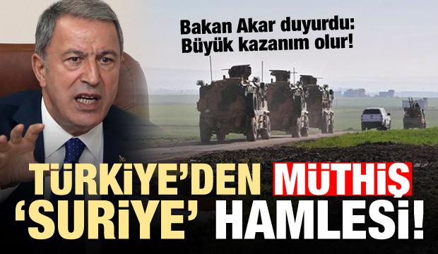 Türkiye'den müthiş hamle! Akar duyurdu...