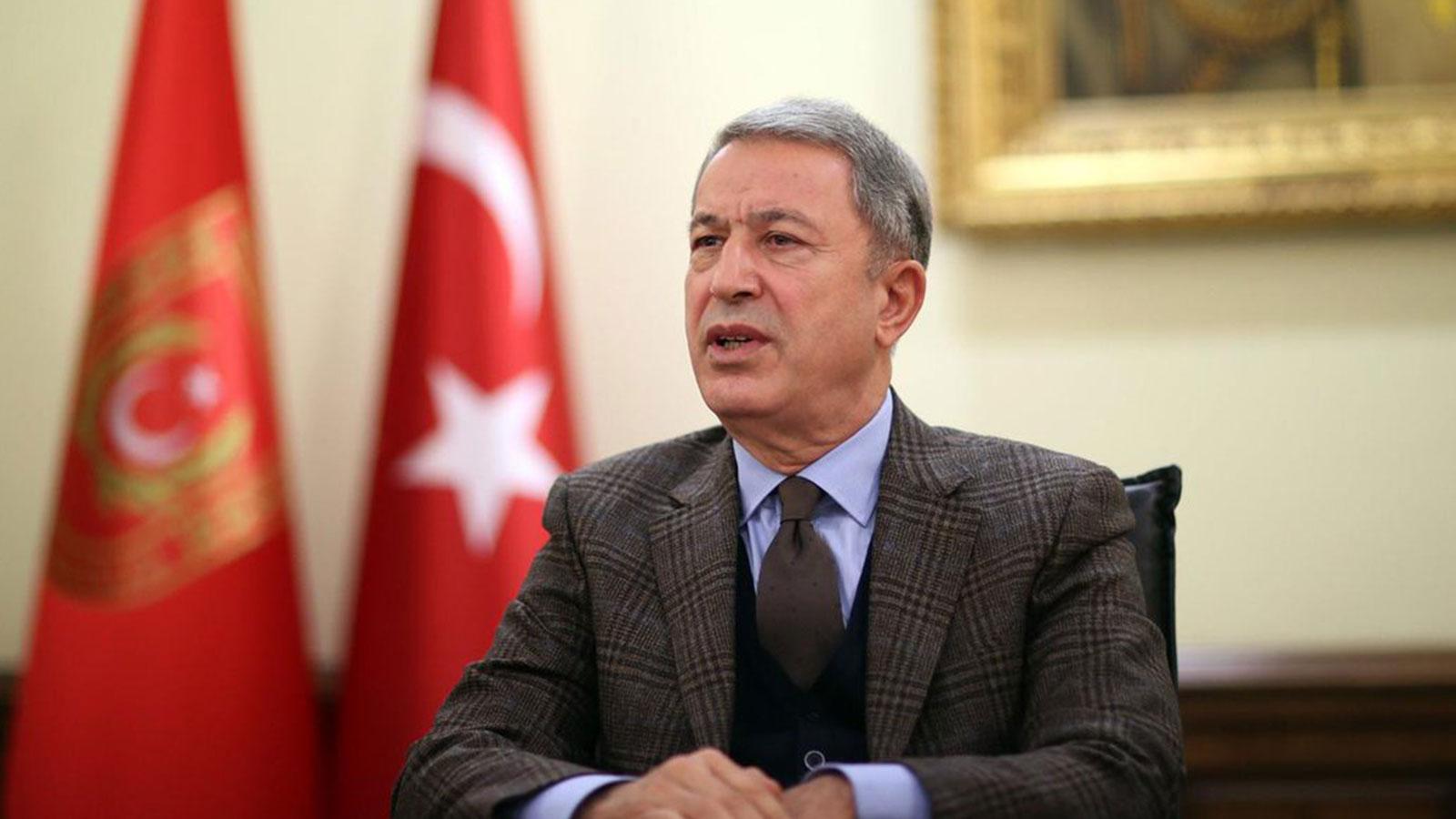 Milli Savunma Bakanı Akar'dan ABD'ye net mesaj