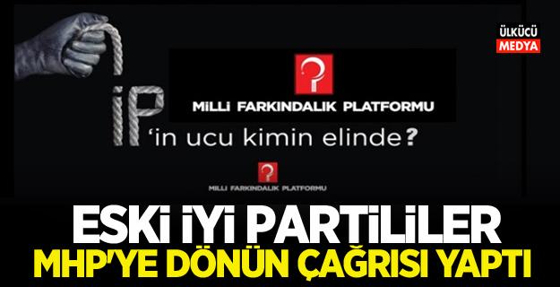 """Eski İYİ Partililer """"Milli Farkındalık Platformu"""" kurup MHP'ye geri dönüş çağrısı yaptı!"""