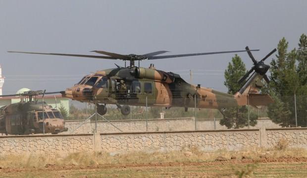 Suriye'de sıcak gelişme! Türk ve ABD helikopterleri havalandı