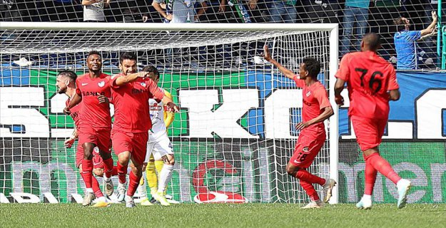 Rizespor (1-2) Gazişehir Gaziantep