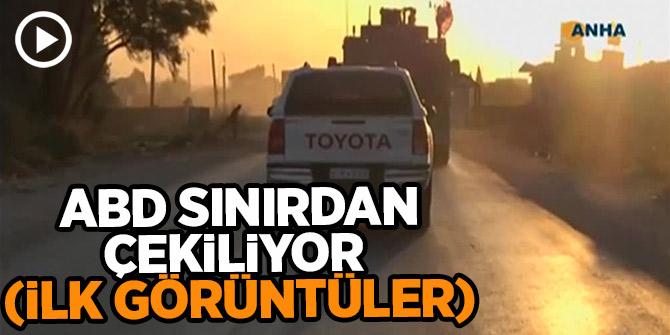 ABD askerleri Türkiye sınırından çekilmeye başladı