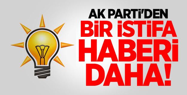 Eski bakan AK Parti'den istifa etti