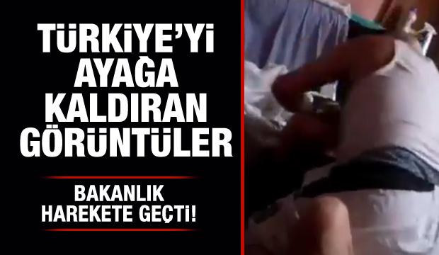 Bakanlık Harekete geçti: 19 yaşındaki genç kıza babasından işkence!