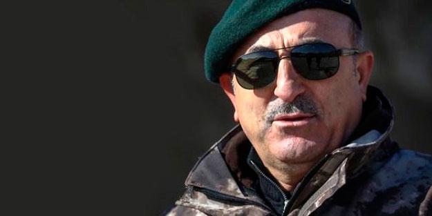Dışişleri Bakanı Mevlüt Çavuşoğlu'nun pozu İYİ Parti'yi rahatsız etti