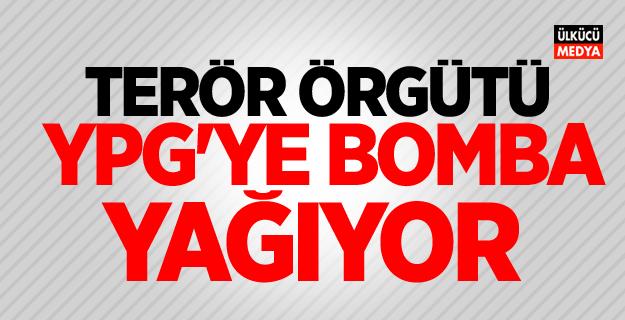 Terör örgütü YPG'ye bomba yağıyor