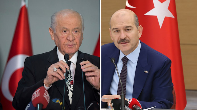Bakan Süleyman Soylu'dan 'Devlet Bahçeli' açıklaması