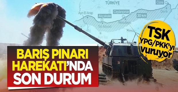 Barış Pınarı Harekatı'nda son durum!