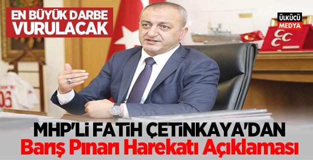 MHP'li Fatih Çetinkaya'dan Barış Pınarı Harekatı açıklaması!