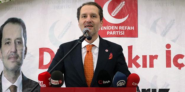 Yeniden Refah Partisi'nde kritik tarih belli oldu