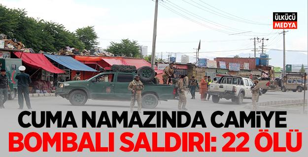 Cuma namazında camiye bombalı saldırı: 22 ölü