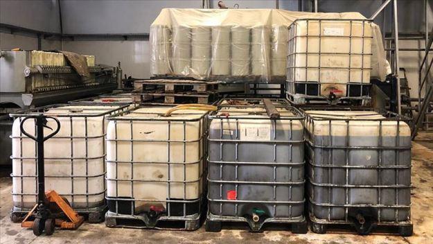 Kaçakçılara darbe: 1,5 milyon litre kaçak akaryakıt ele geçirildi