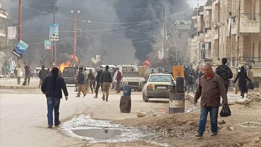 Afrin'de terör saldırısı: Ölü ve yaralılar var...